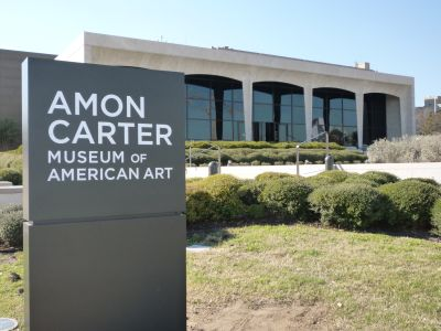 Amon Carter Museum of American Art Marquee-South